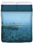 Blue Morning Flash Duvet Cover