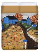 Blue Mountain Farm Duvet Cover