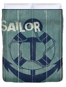 Blue Nautical-jp3614 Duvet Cover