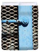 Blue On White Duvet Cover