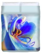 Blue Orchid Duvet Cover