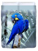 Blue Parrot Duvet Cover