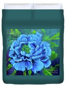 Blue Peony Jenny Lee Discount Duvet Cover