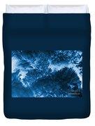Blue Plants Duvet Cover