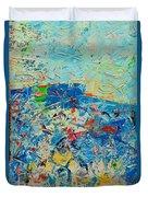 Blue Play 4 Duvet Cover