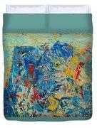 Blue Play 5 Duvet Cover