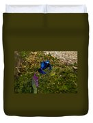 Blue Poison Arrow Frog Duvet Cover