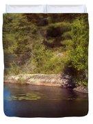 Blue Pond Marsh Duvet Cover