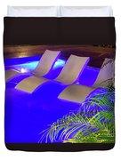 Blue Pool Duvet Cover