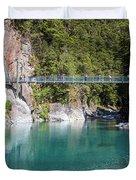 Blue Pools New Zealand Duvet Cover