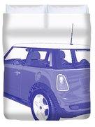 Blue Print Mini Duvet Cover