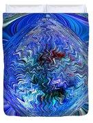 Blue Reflextions Duvet Cover