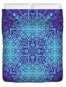 Blue Resonance Duvet Cover