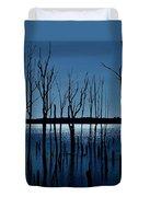 Blue Reservoir - Manasquan Reservoir Duvet Cover