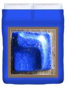 Blue Resh Duvet Cover