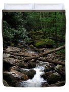 Blue Ridge Brook Duvet Cover