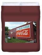 Blue Ridge Coke Duvet Cover