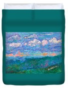 Blue Ridge Magic From Sharp Top Stage One Duvet Cover