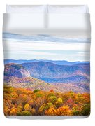 Blue Ridge Mountains 1 Duvet Cover