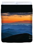 Blue Ridge Mountains. Duvet Cover