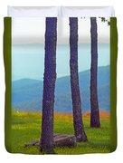 Blue Ridge Mountains Of Virginia Duvet Cover