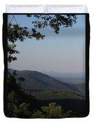 Blue Ridge Parkway Duvet Cover