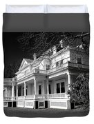 Blue Ridge Parkway Flat Top Manor Bw Duvet Cover
