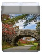 Blue Ridge Parkway Stone Arch Bridge Duvet Cover