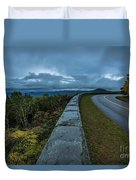 Blue Ridge Parkway Twisty Duvet Cover