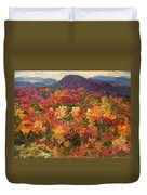 Blue Ridge Pastoral Duvet Cover