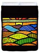 Blue Ridge Sunrise Duvet Cover