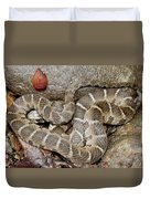 Montreat Water Snake Duvet Cover