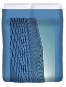 Blue Rise Duvet Cover