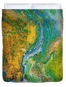 Blue River Thru Duvet Cover