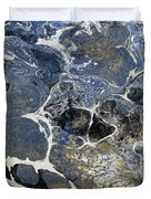 Blue Rock One Duvet Cover