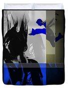 Blue Romance Duvet Cover by Naxart Studio