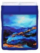 Blue Shades Duvet Cover
