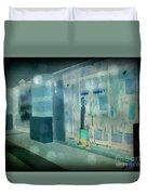 Blue Shopper Duvet Cover