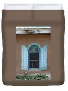 Blue Shutters Duvet Cover