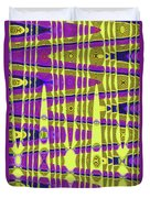 Blue Sky And Color Squares Abstract,#4 Duvet Cover