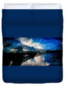 Blue Sky In Paris  Duvet Cover