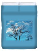 Blue Sky Duvet Cover