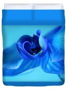 Blue Solitude Duvet Cover