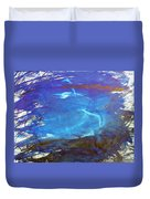 Blue Space Water Duvet Cover