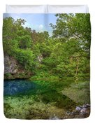 Blue Springs II Duvet Cover