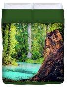 Blue Springs Duvet Cover