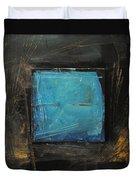 Blue Square Duvet Cover