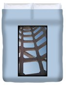 Blue Stairs Duvet Cover