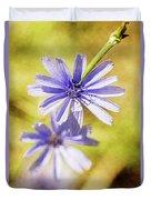Blue Star #4 Duvet Cover