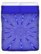 Blue Star Janca Abstract Duvet Cover